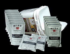 Wise Foods 84 Serving Bucket - 25 Year Life